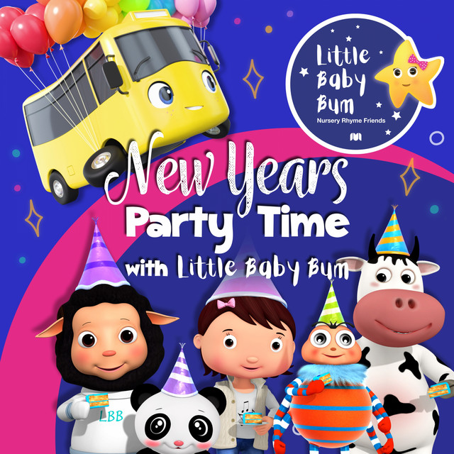 New Year's Party Time with Little Baby Bum