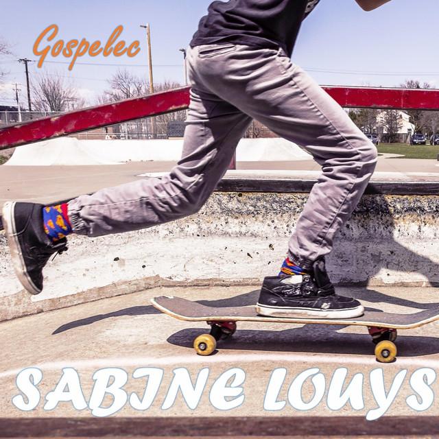 Album cover for Gospelec by Sabine Louys