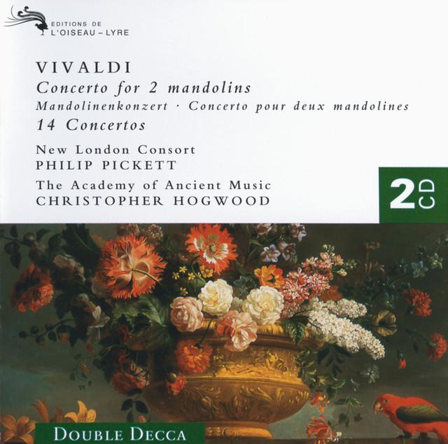 Vivaldi: 14 Concertos (for Mandolin, Flute, Trumpet, Violin, etc.) Albumcover