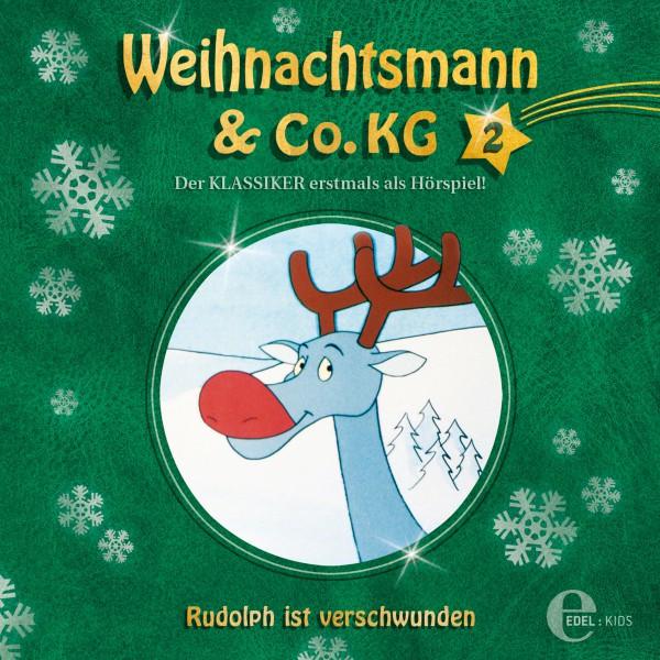 Folge 2: Zwei kleine Genies  -  Rudolph ist verschwunden (Das Original-Hörspiel zur TV-Serie) Cover
