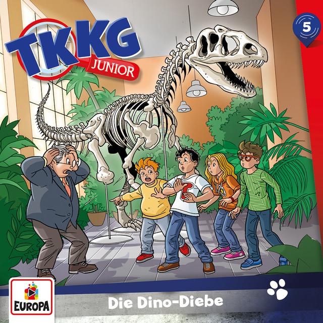 005 - Die Dino-Diebe Cover