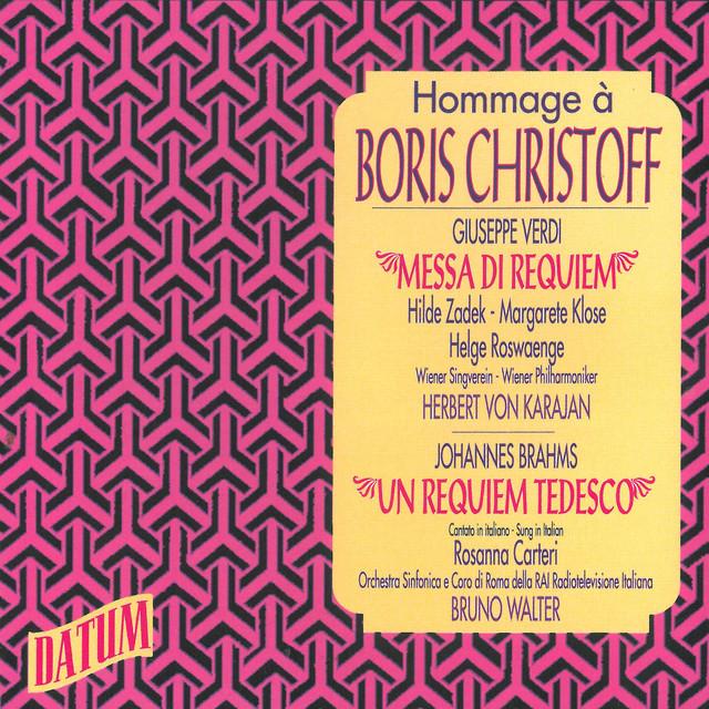Hommage à Boris Christoff