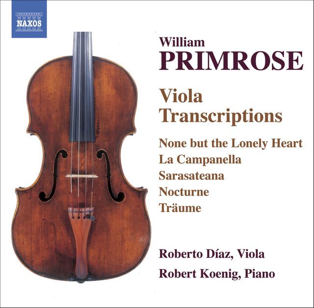 Primrose: Viola Transcriptions Albumcover