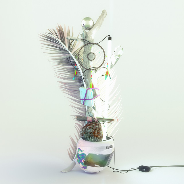 Album cover for Aa by Baauer