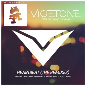 Heartbeat (The Remixes) Albumcover