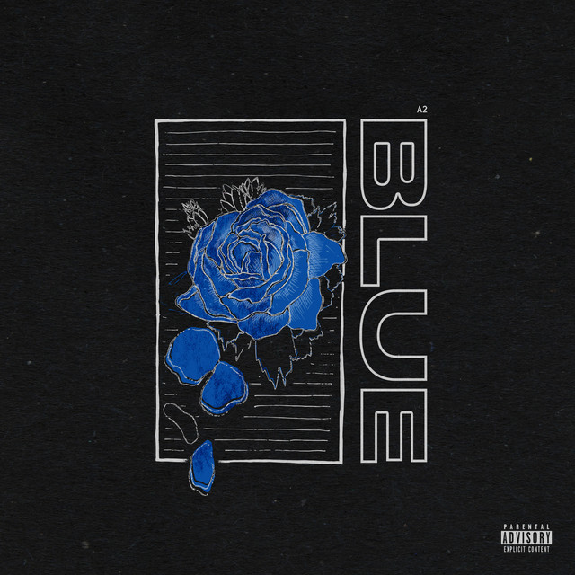 Album cover for BLUE by A2