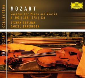 Mozart: Violin Sonatas K. 301, 304, 378 & 526 Albumcover