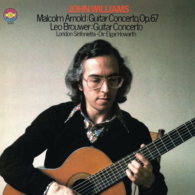 Arnold: Guitar Concerto, Op. 67 & Brouwer: Guitar Concerto Albumcover