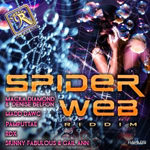 Spider Web Riddim Albumcover