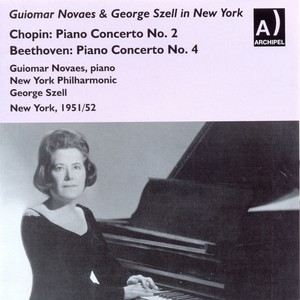 Guiomar Novaes & George Szell in New York in 1951/52 Albumcover