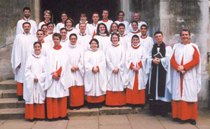 The Choir Of Trinity College, Cambridge