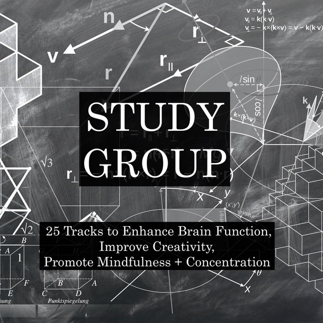 Album cover for Study Music Pack - 25 Tracks to Enhance Brain Function, Improve Creativity, Promote Mindfulness & Concentration for Maximum Exam and Study Success by Meditation Music Zone, The Study Group