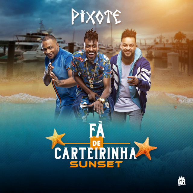 Album cover for Fã de Carteirinha Sunset (Ao Vivo) by Pixote