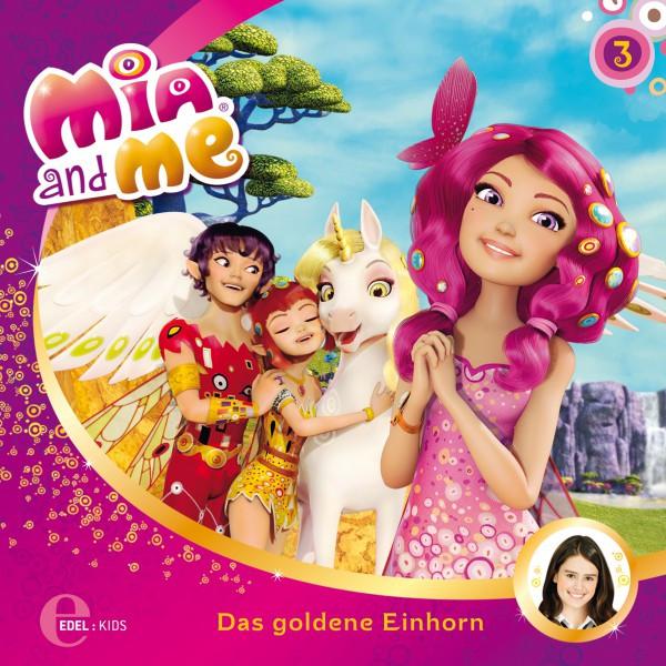 Folge 3: Das goldene Einhorn  -  Onchao und das Paradies(Das Original-Hörspiel zur TV-Serie) Cover
