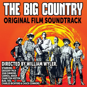 Jerome Moross, Hollywood Studio Symphony Orchestra The Big Country cover