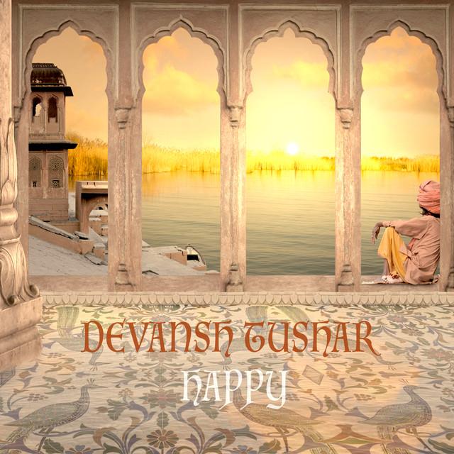 Album cover for Happy by Devansh Tushar