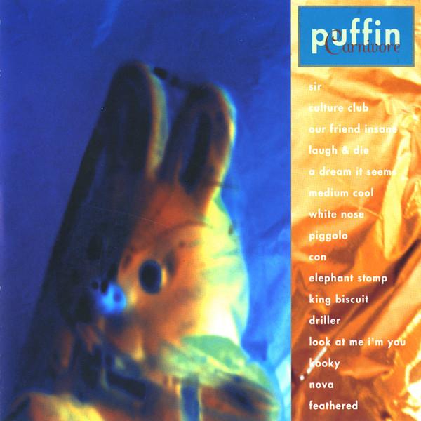 Skivomslag för Puffin: Carnivore