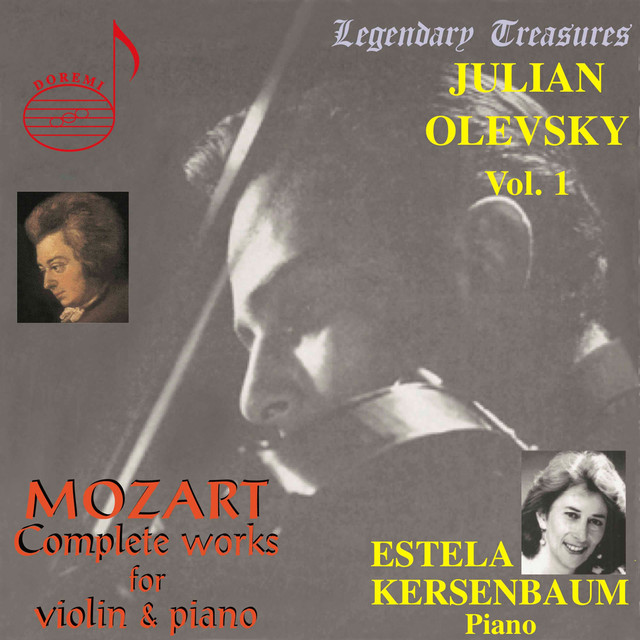 Julian Olevsky, Vol. 1: Mozart Complete Works for Violin & Piano