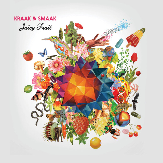 Album cover for Juicy Fruit by Kraak & Smaak