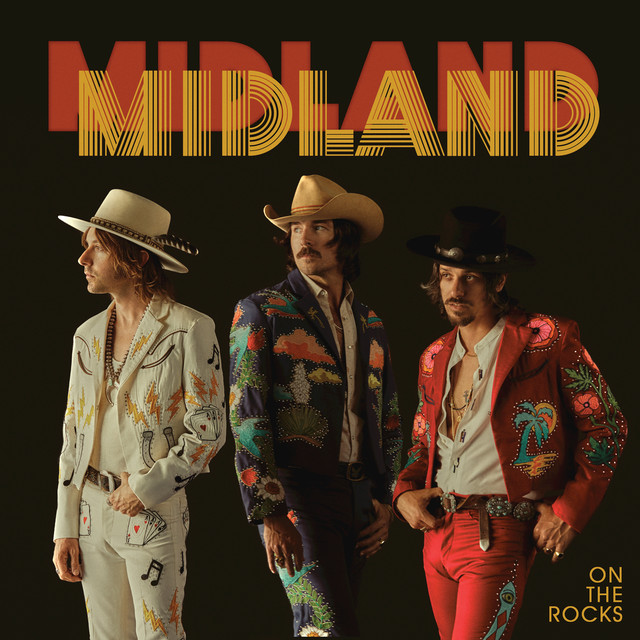 Album cover for On The Rocks by Midland