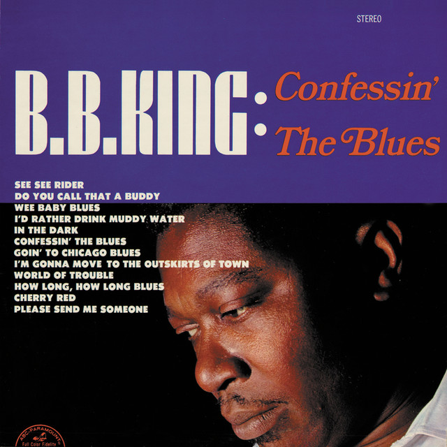 B.B. King Confessin' the Blues album cover