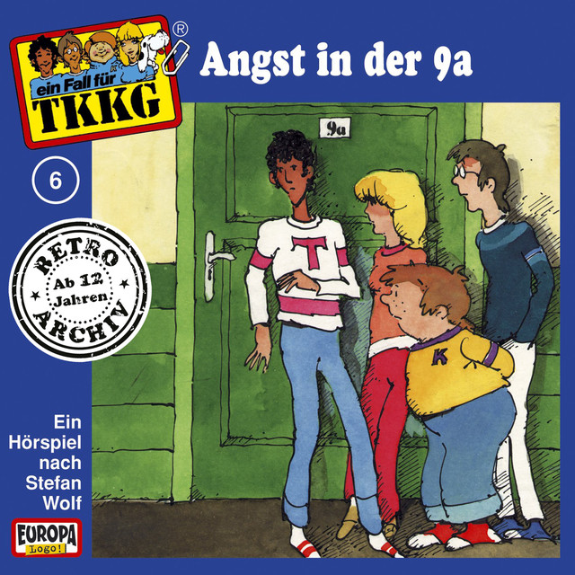 006 - Angst in der 9a Cover