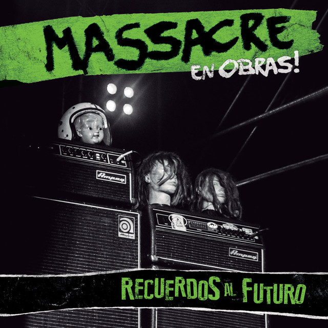 Album cover for Recuerdos al Futuro (En Vivo) by Massacre