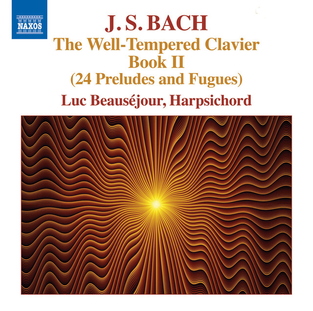 J.S. Bach: The Well-Tempered Clavier, Book 2 Albumcover
