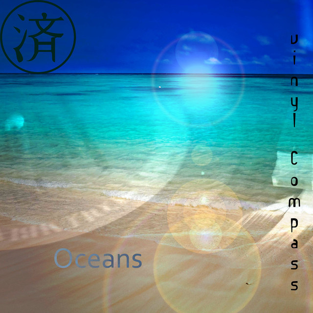 Album cover for Oceans by Vinyl Compass