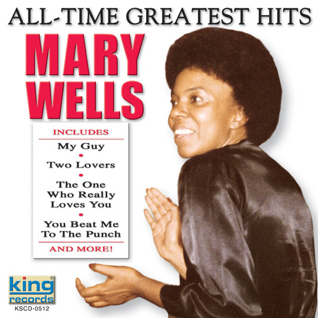 Mary Wells All-Time Greatest Hits album cover