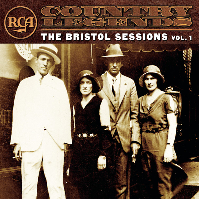 Various Artists RCA Country Legends: The Bristol Sessions, Vol. 1 album cover