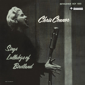 Chris Connor, Ellis Larken Trio Lullaby of Birdland cover