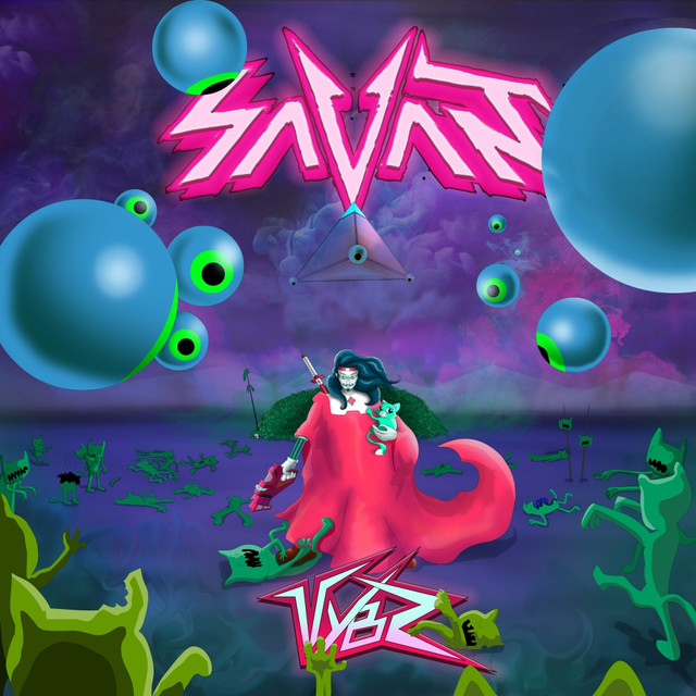 Album cover for Vybz by Savant