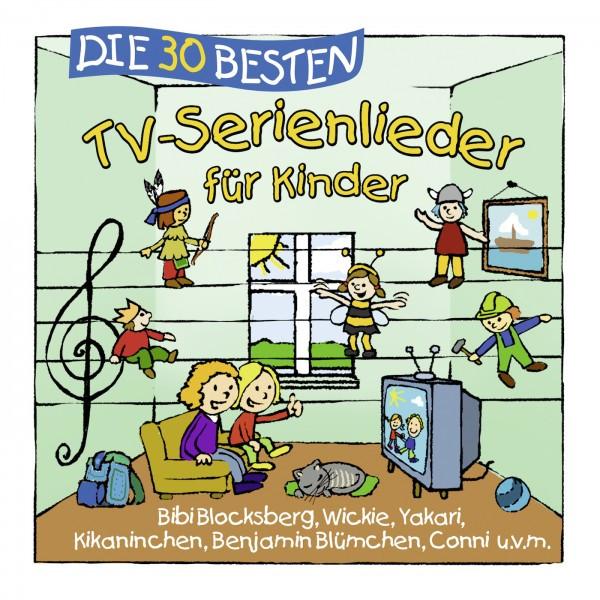 Die 30 besten TV-Serienlieder für Kinder