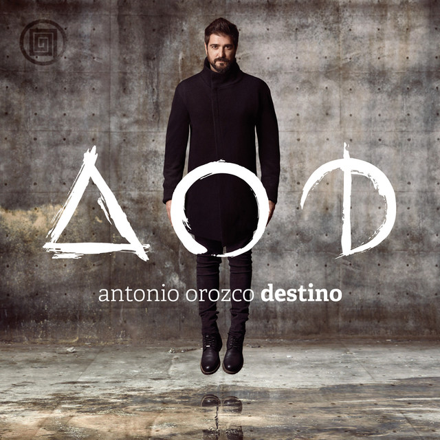Album cover for Destino by Antonio Orozco