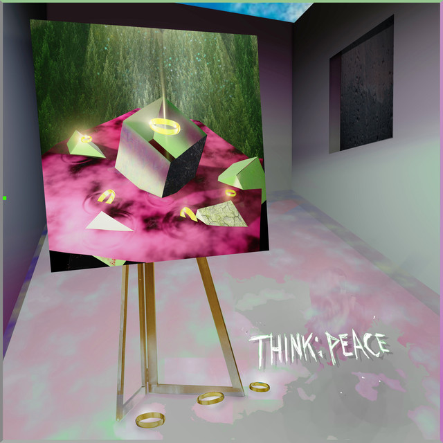 Album cover for THINK: PEACE by Clarence Clarity