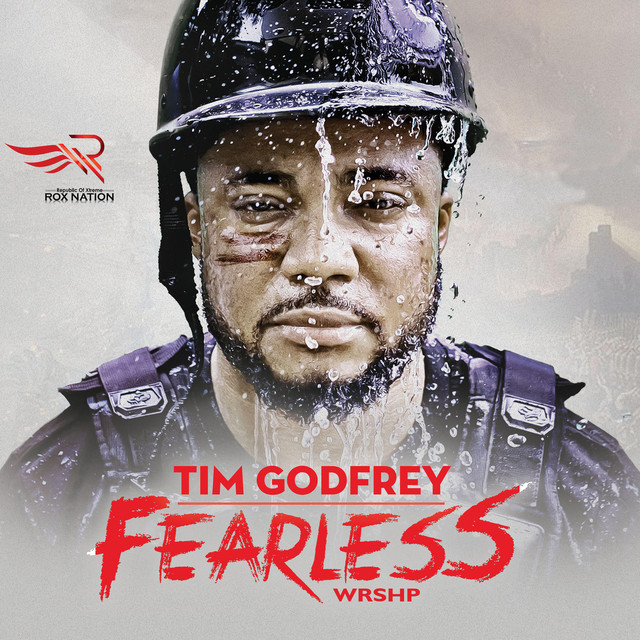 Album cover for FEARLESS by Tim Godfrey