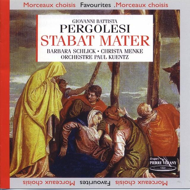 Pergolese : Stabat Mater Albumcover