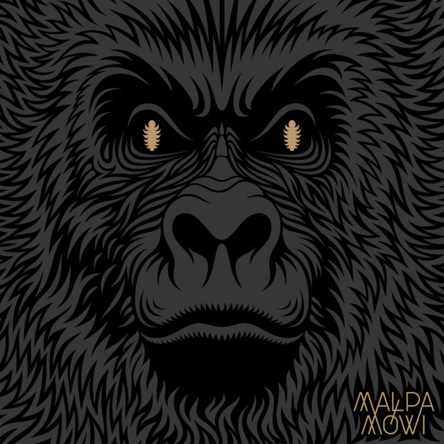 Album cover for Małpa mówi by Małpa