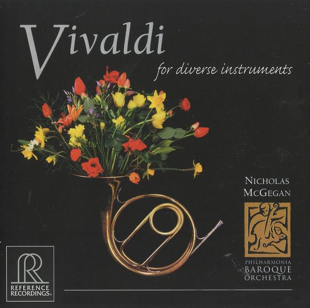 Vivaldi for Diverse Instruments Albumcover