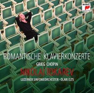 Romantische Klavierkonzerte (Grieg, Chopin Nr. 2) Albumcover