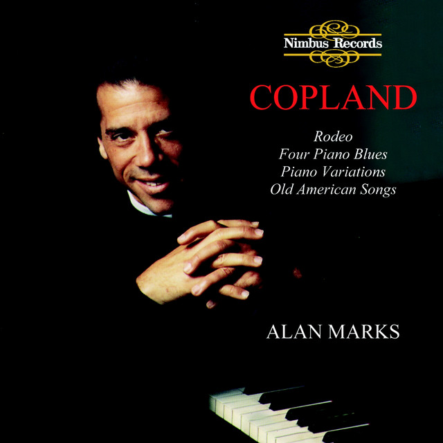Copland: Piano Works Albumcover