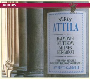 Verdi: Attila Albumcover