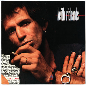 Keith Richards Rockawhile cover