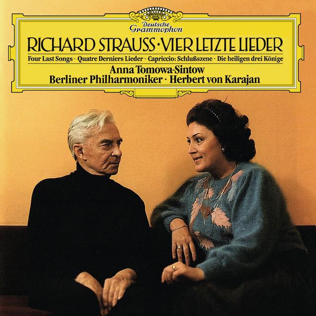 Strauss, R.: Vier letzte Lieder, TrV 296; 6. Die heiligen drei Könige aus Morgenland, Sechs Lieder, Op.56; Capriccio, Op.85 Albumcover