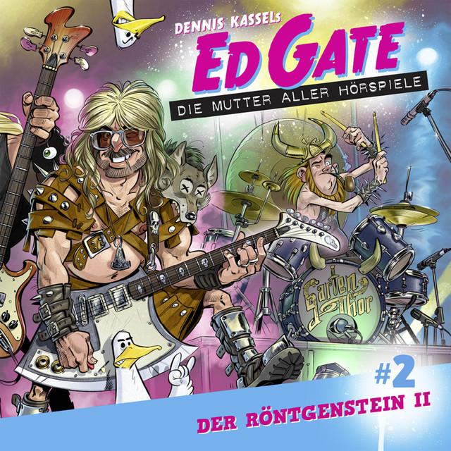 Ed Gate - Die Mutter aller Hörspiele, Folge 2: Der Röntgenstein - Teil 2 von 2 Cover