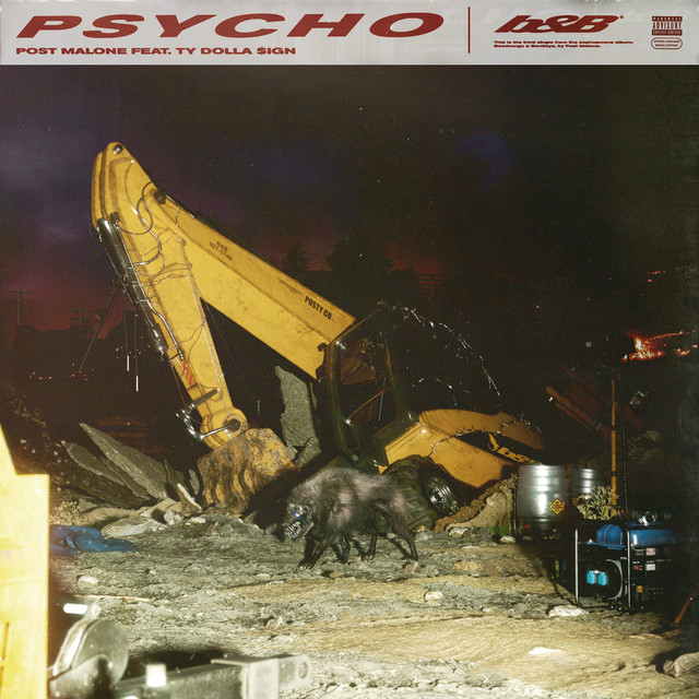 Album cover for Psycho (feat. Ty Dolla $ign) by Post Malone
