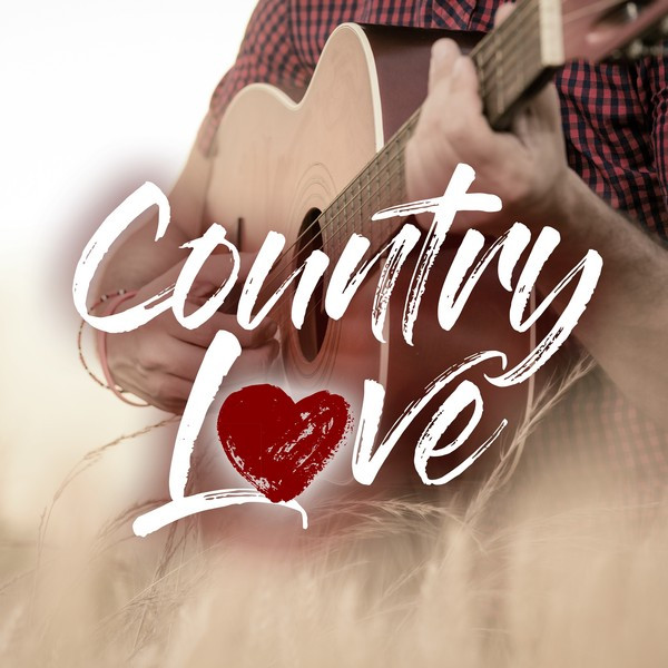 Album cover for Country Love by Various Artists