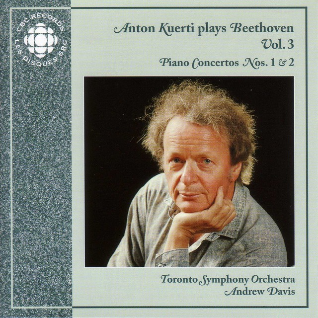 Anton Kuerti Plays Beethoven, Vol. 3 Albumcover