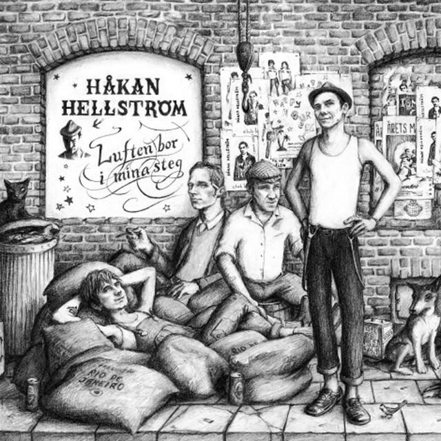 Skivomslag för Håkan Hellström: Luften Bor I Mina Steg